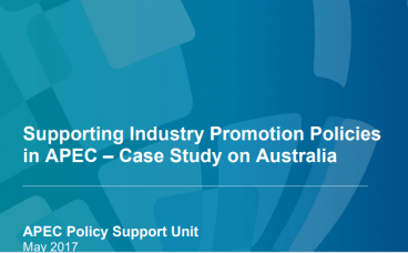 Supporting Industry Promotion Policies
