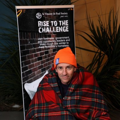Andrew Rowe CEO Sleepout
