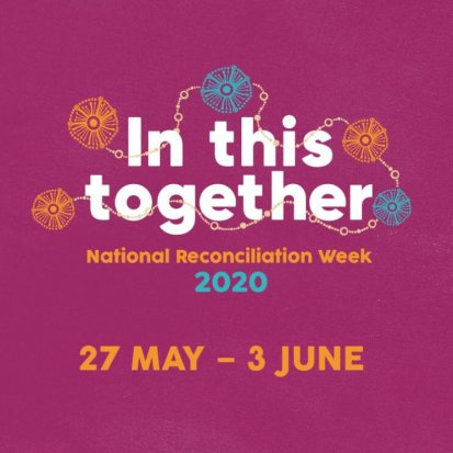 National Reconciliation Week 2020 theme banner, acknowledgement https://www.reconciliation.org.au