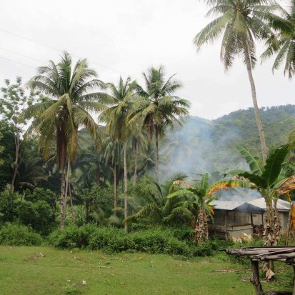 A farming community in the Philipines