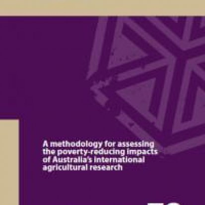 A methodology for assessing the poverty-reducing impacts of Australia's international agricultural research
